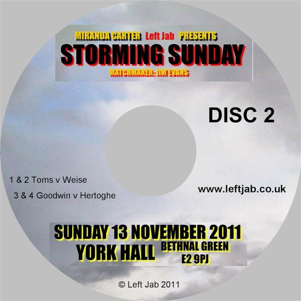 Storming Sunday DVD